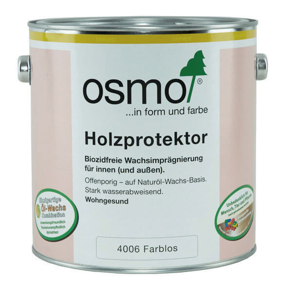 osmo holzprotektor farblos 4006 osmo shop ihr osmo fachgesch ft. Black Bedroom Furniture Sets. Home Design Ideas