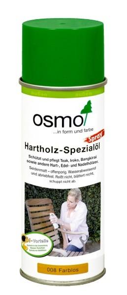 OSMO Hartholz-Spezialöl Spray 008 Farblos 0,4 Liter